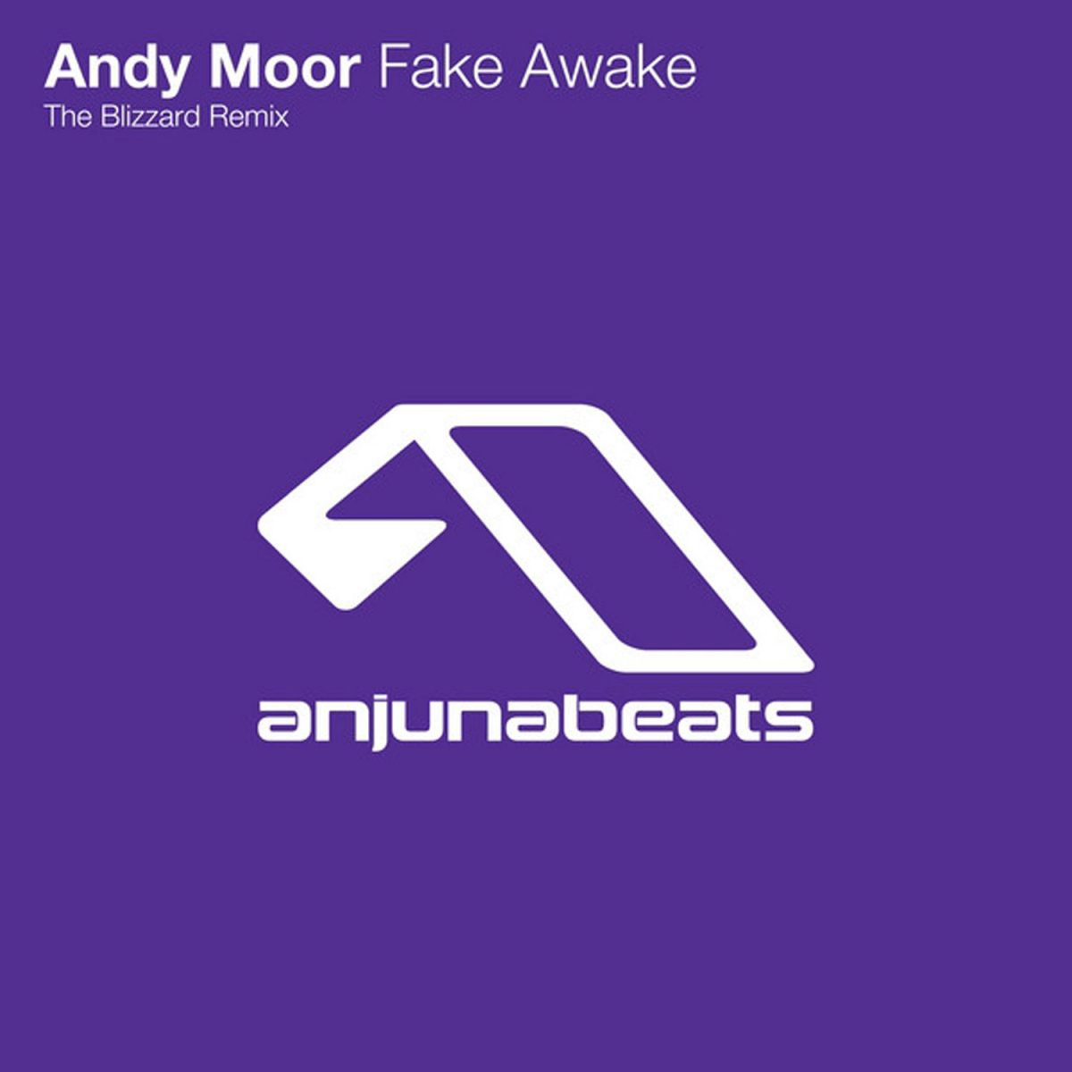 Fake Awake Andy Moor The Blizzard Remix - The Blizzard - on Anjunabats
